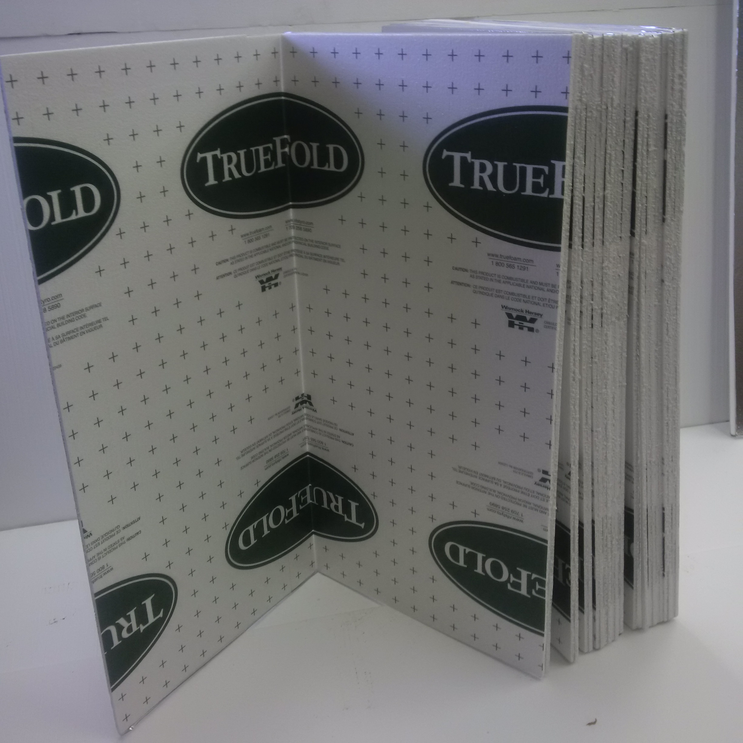 Truefold - Designed for installation under siding